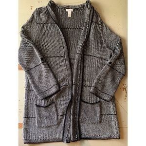 Chico's :: open front knit cardigan